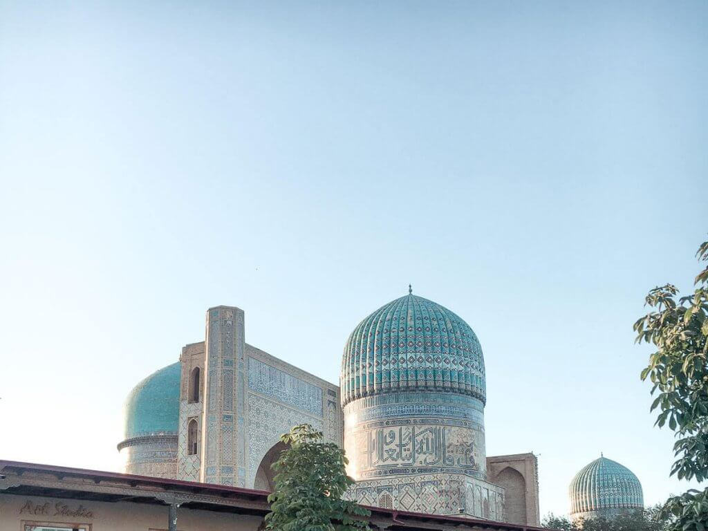 Bibi-Khanym Mosque - best things to do in Samarkand