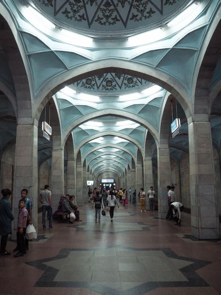 Station de métro Alisher Navoi