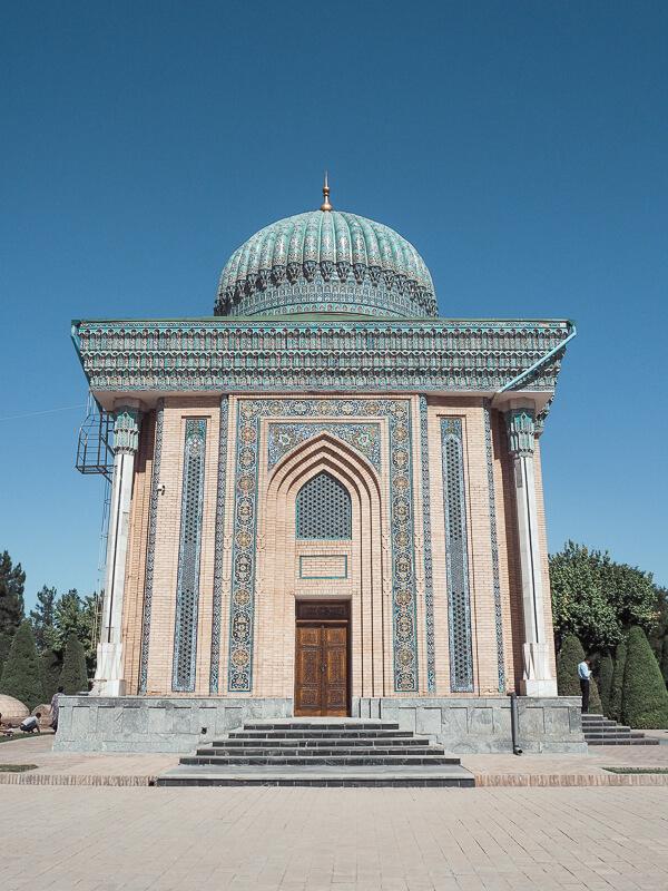 Abu Mansur al-Maturidi mausoleum - best things to do in Samarkand