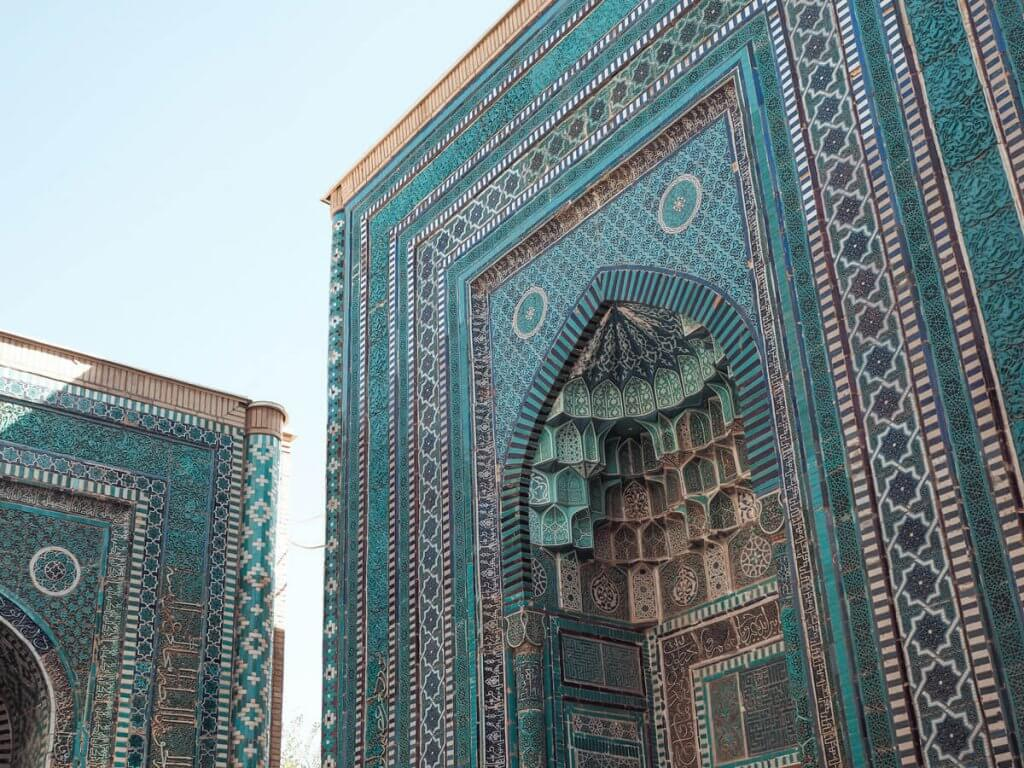 Chah-E-Zindeh - best things to do in Samarkand