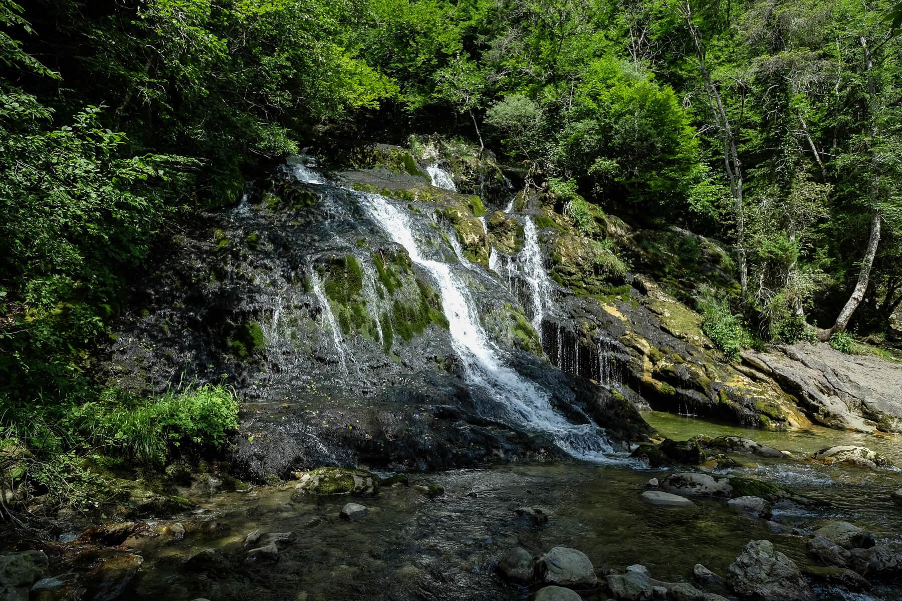 la cascade du Pissieu en érté