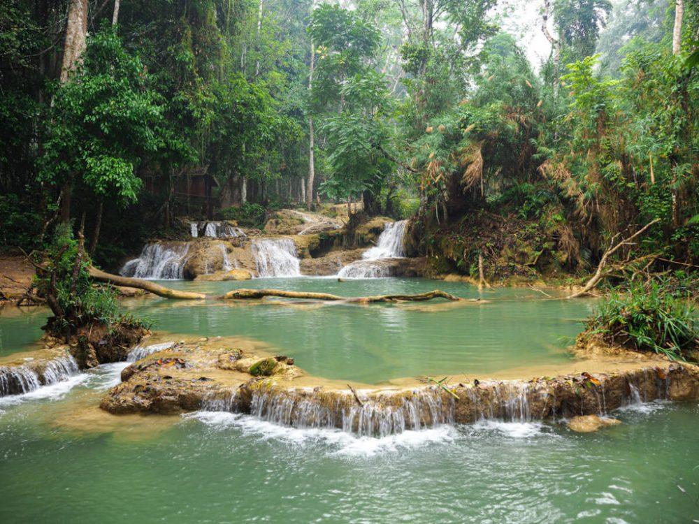 cascades de Kuang Si à Luang Prabang
