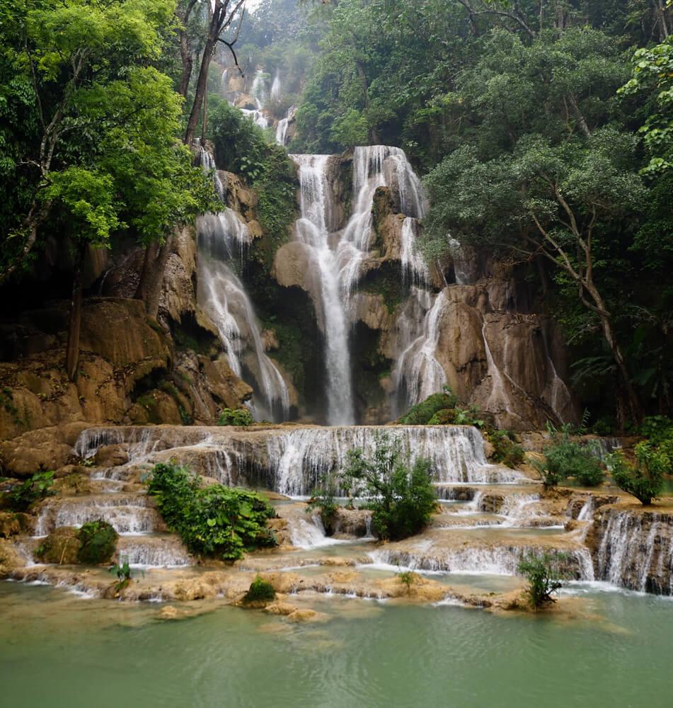 Les magnifiques cascades de Kuang Si