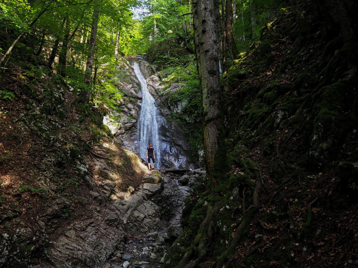 Cascades proches du lac d'Annecy -   cascade des Nantisses (haut)