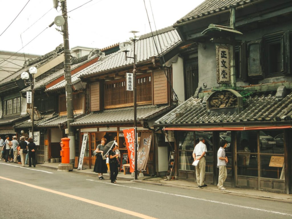 Edo Historic District in Sawara