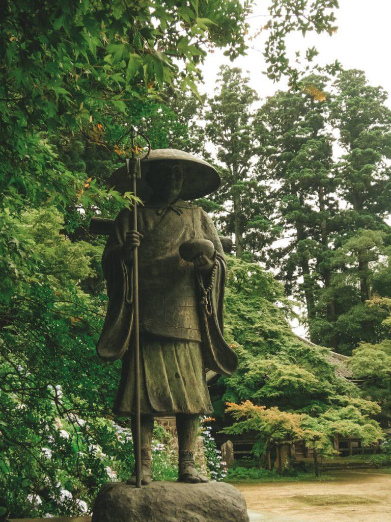 Statue of Kanpukuji temple, Sawara