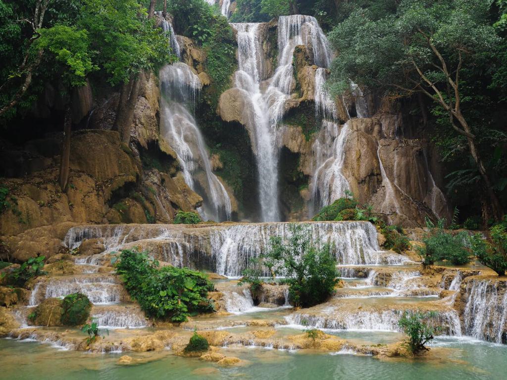 Les cascades de Kuang Si - incontournable de Luang Prabang