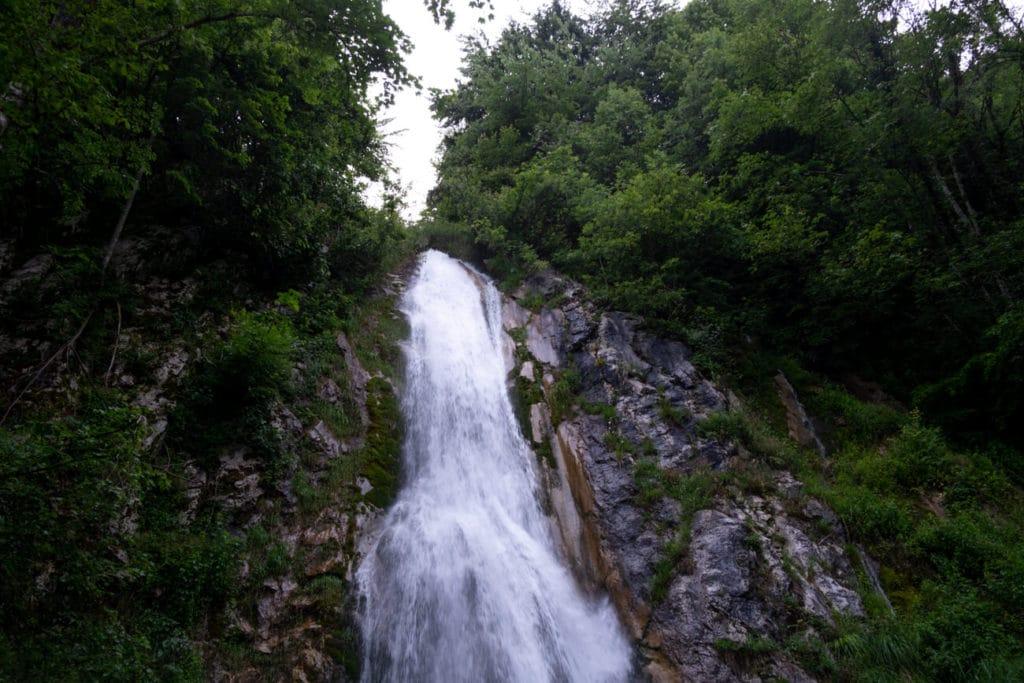 La cascade de Fontany