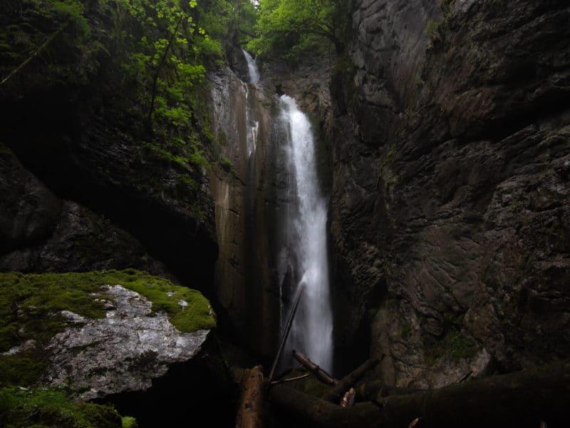 cascade de la belle inconnue amphitheatre
