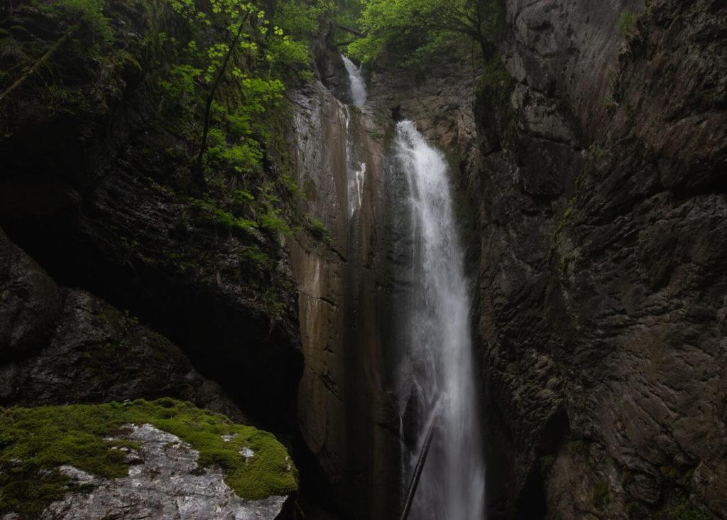 cascade de la belle inconnue