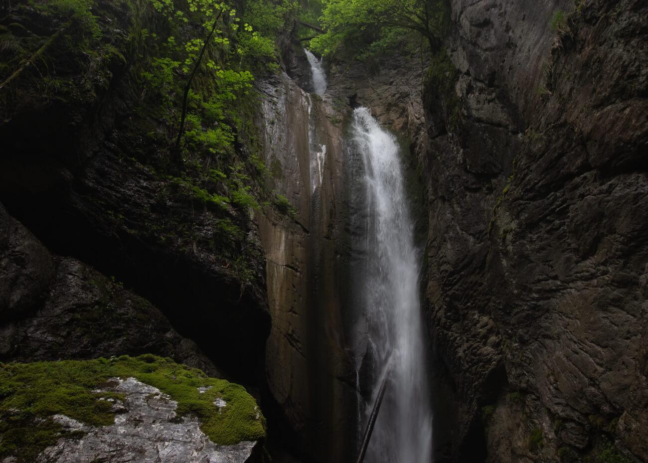 Cascades proches du lac d'Annecy - La cascade de la belle inconnue