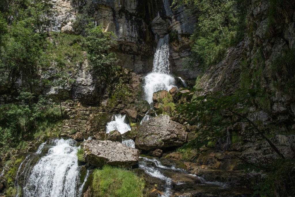 cascade de la Doria, partie supérieure