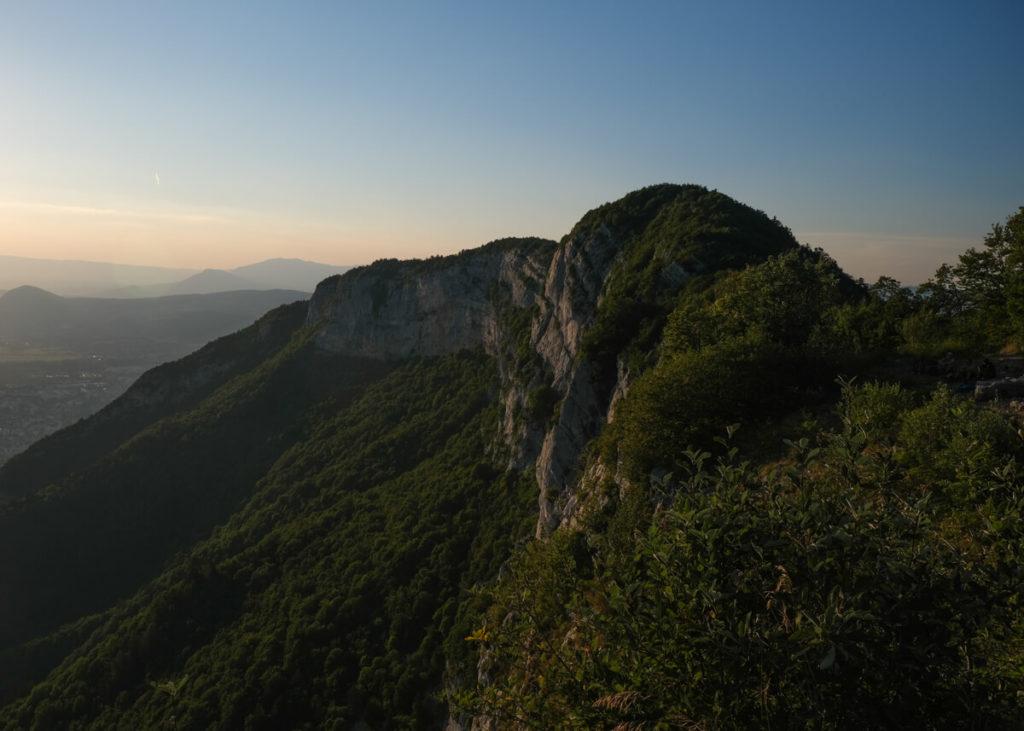 Le Mont Veyrier depuis le Mont Baron