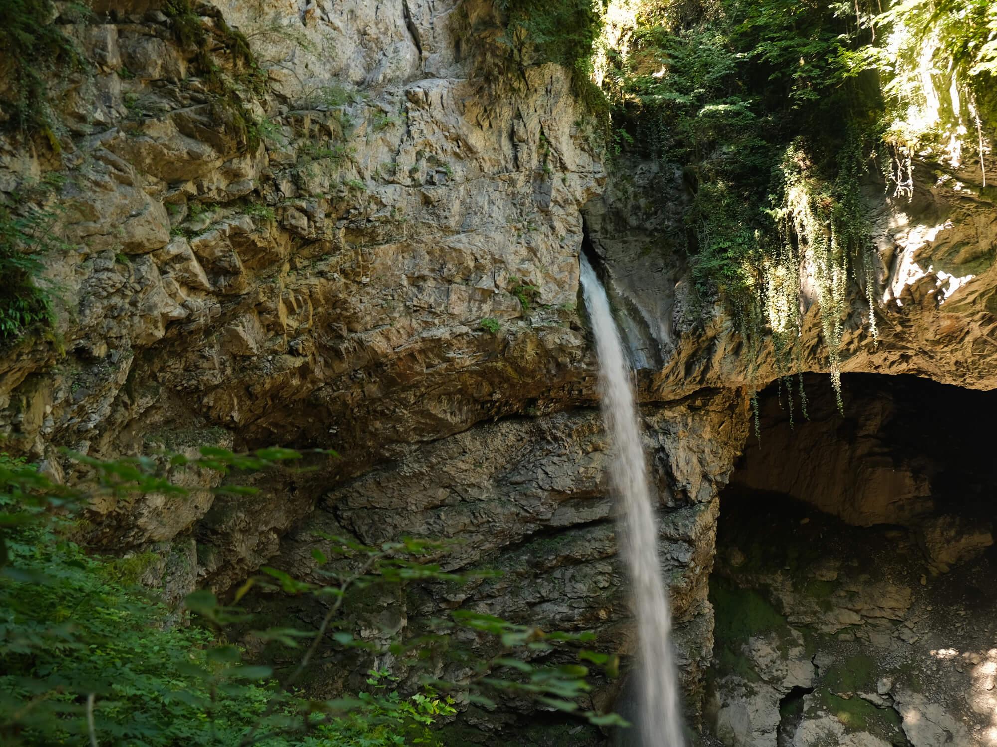 Cascades proches du lac d'Annecy -  cascade de Seythenex