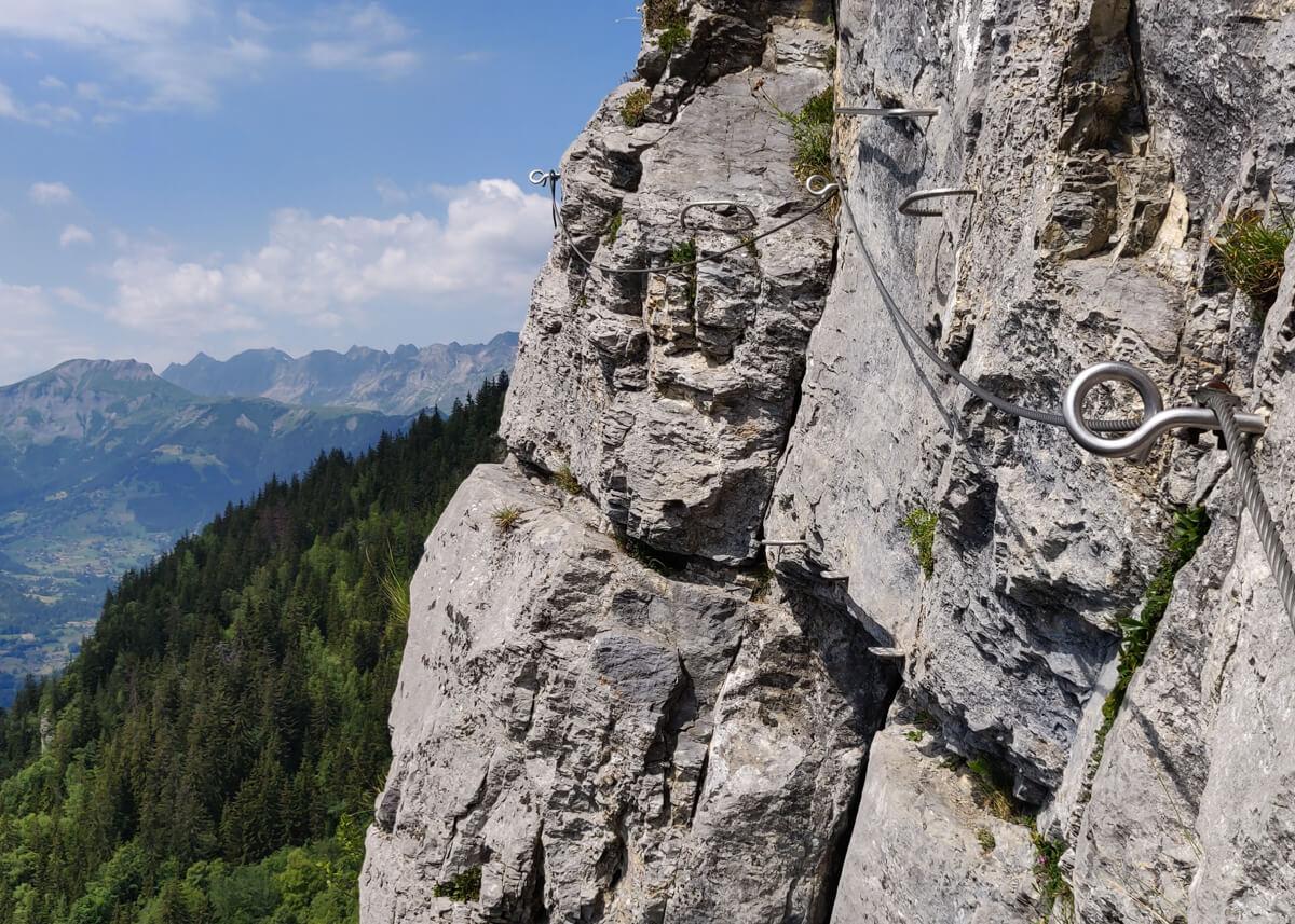 la traversée rocheuse
