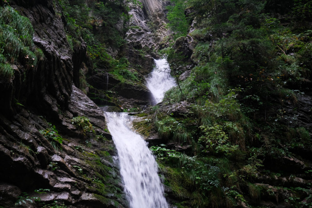 La Cascade de Burgeat à Manigod
