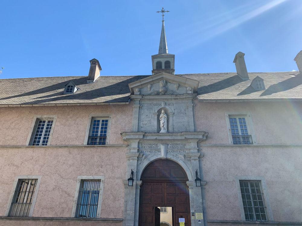 L'entrée de la Chartreuse du Reposoir devenue Carmel