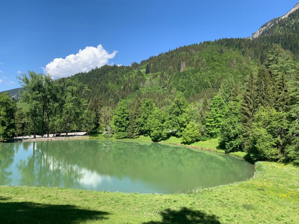 Le lac de la Chartreuse du Reposoir devenue Carmel