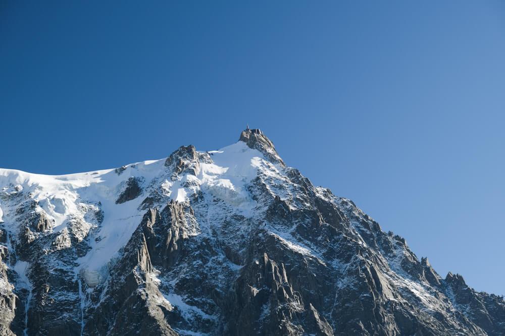 Aiguille du Midi, versant nord
