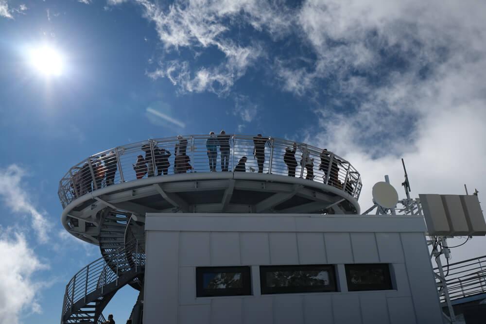 Terasse panoramique de la pointe Helbronner