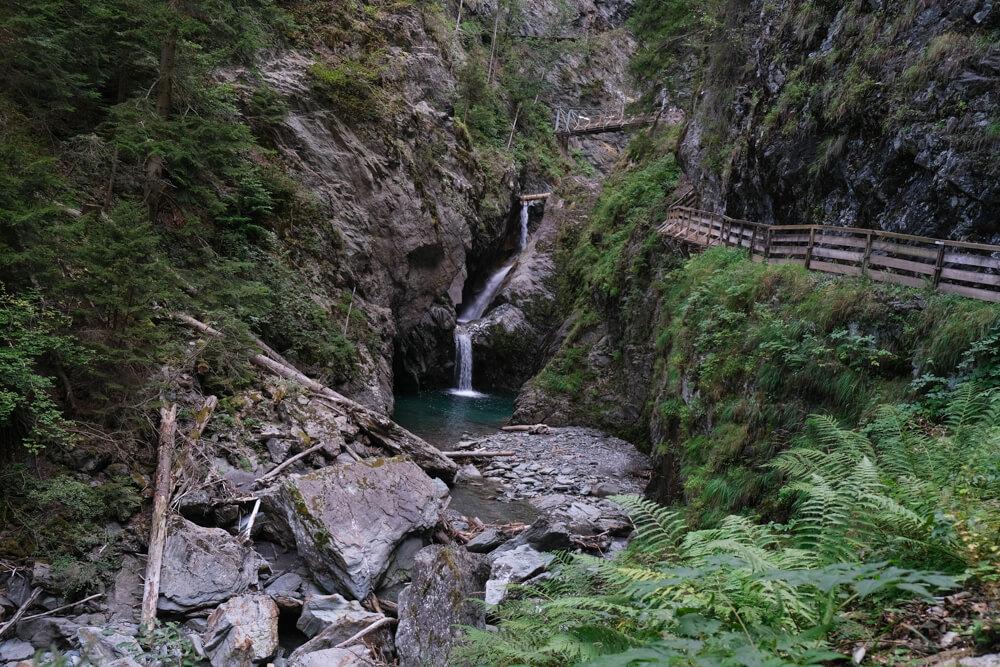 Les gorges de la Diosaz -  Cascade de l'aigle