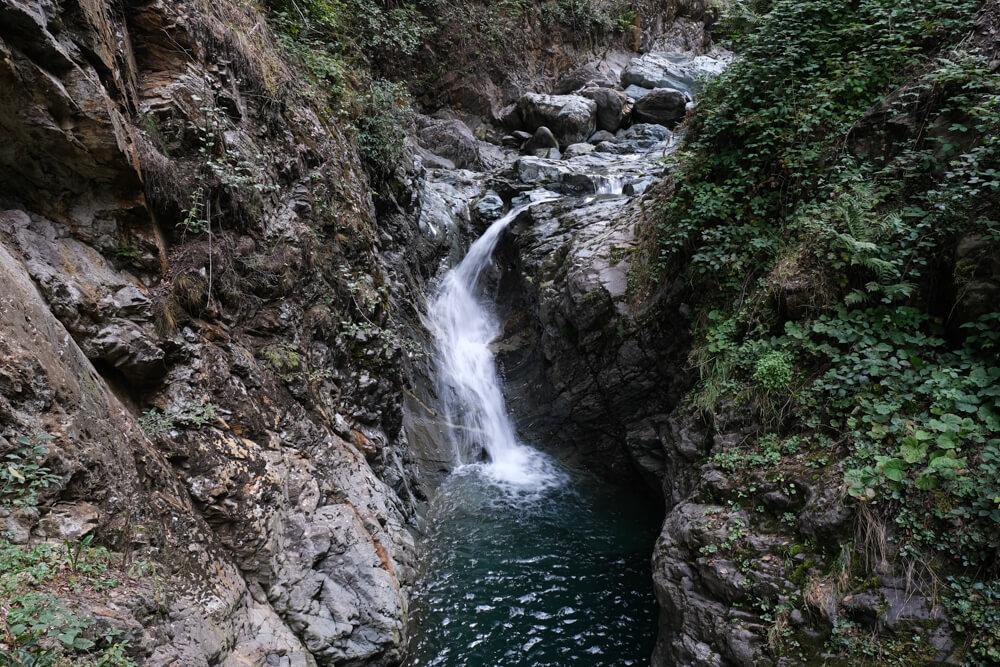 Les gorges de la Diosaz - cascade de Barme Rousse