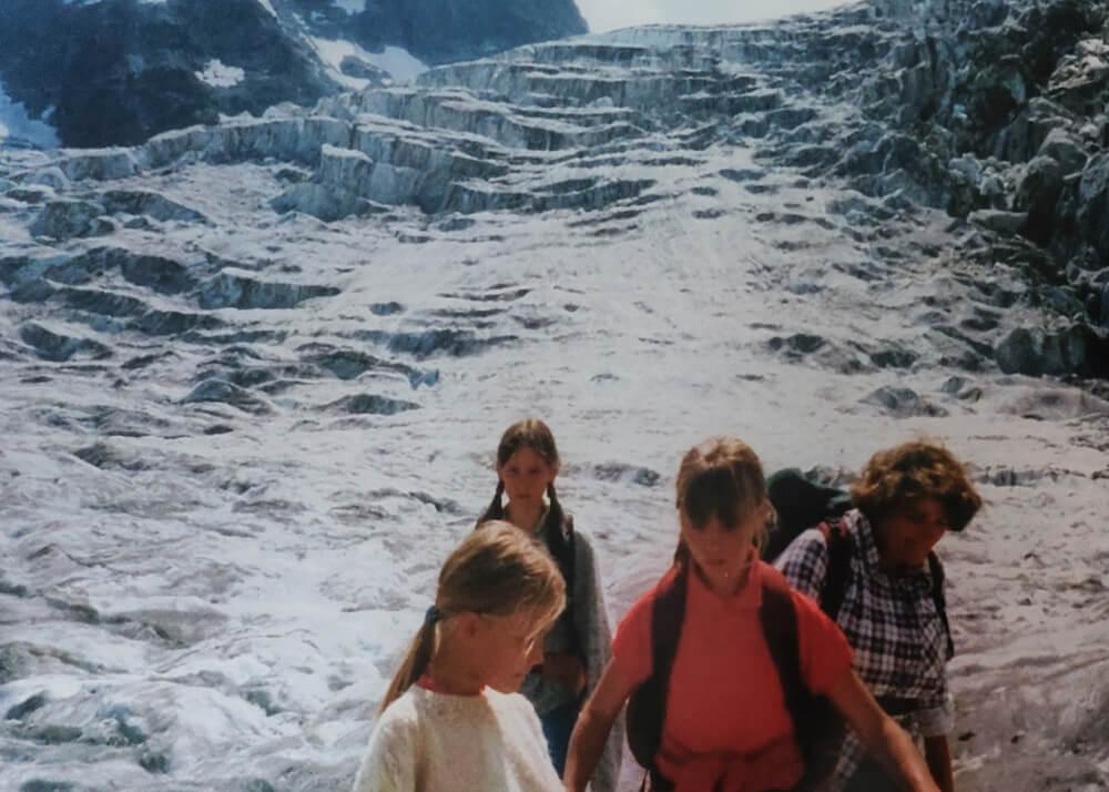 Première expérience du glacier