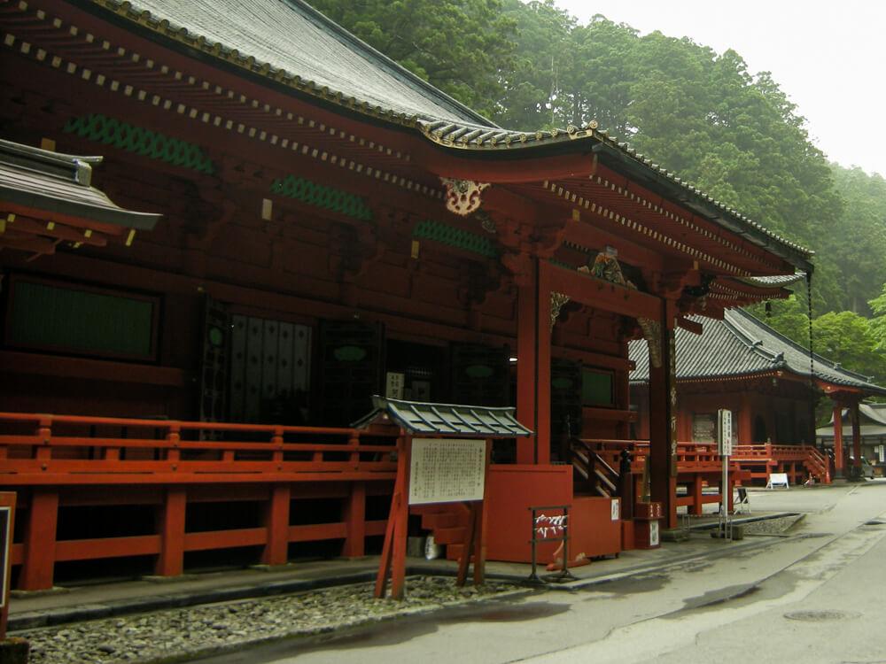 Le sanctuaire Futarasan-jinja de Nikko
