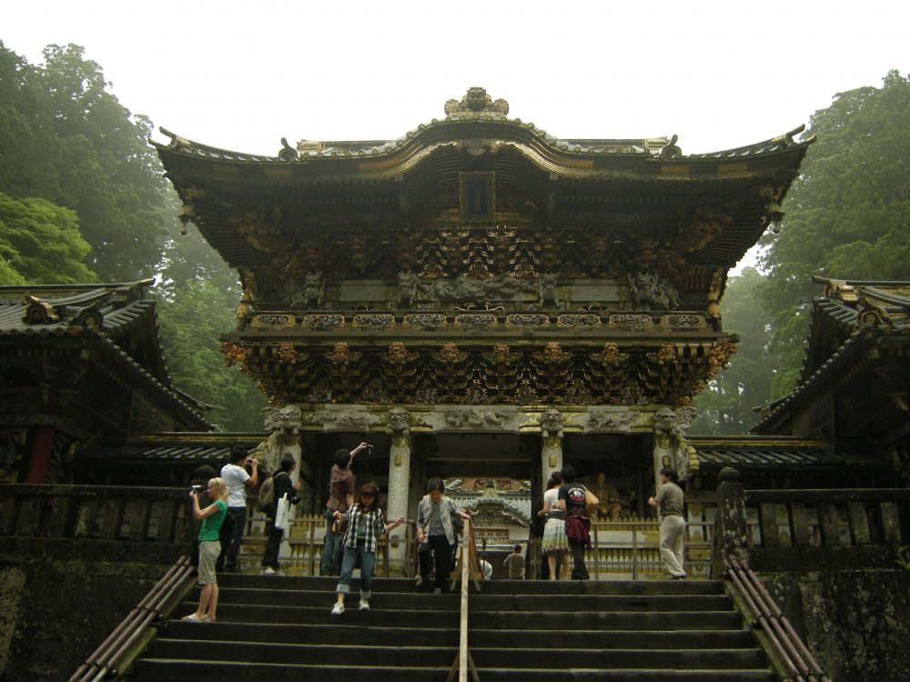 Yomeimon, la porte principale du sanctuaire Tōshō-gū à Nikko