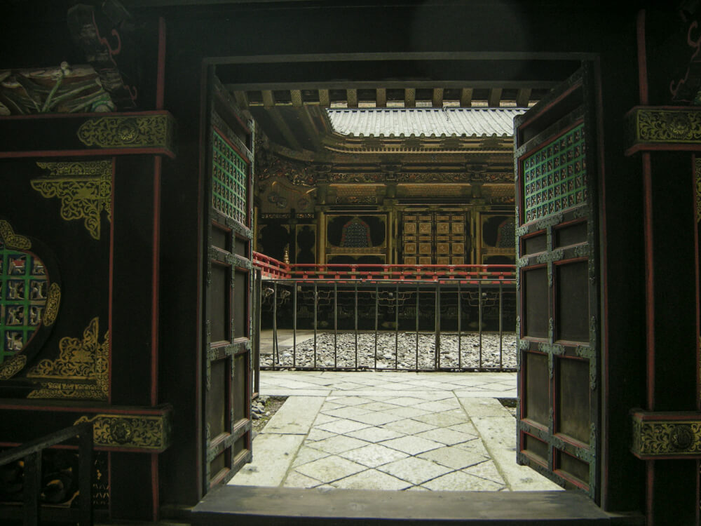 Porte du sanctuaire Tōshō-gū à Nikko