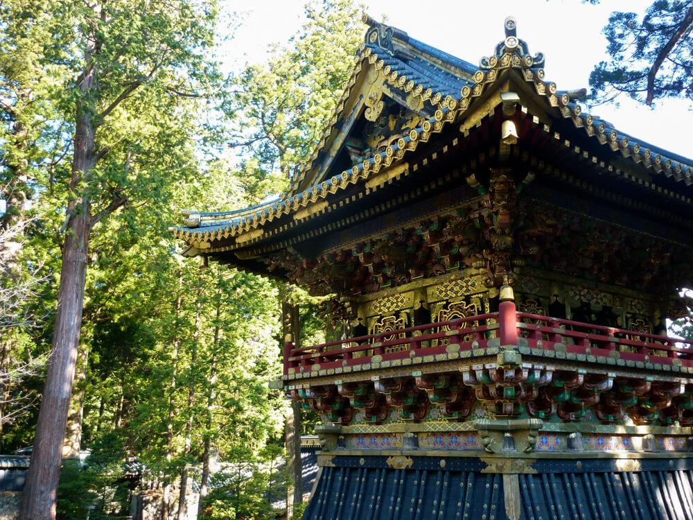 Shōrō: tour de la cloche au sanctuaire du Toshogu à Nikko