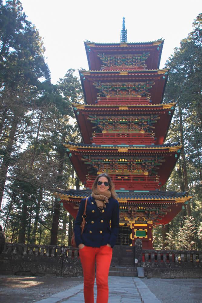 Pagode du sanctuaire Tōshō-gū à Nikko