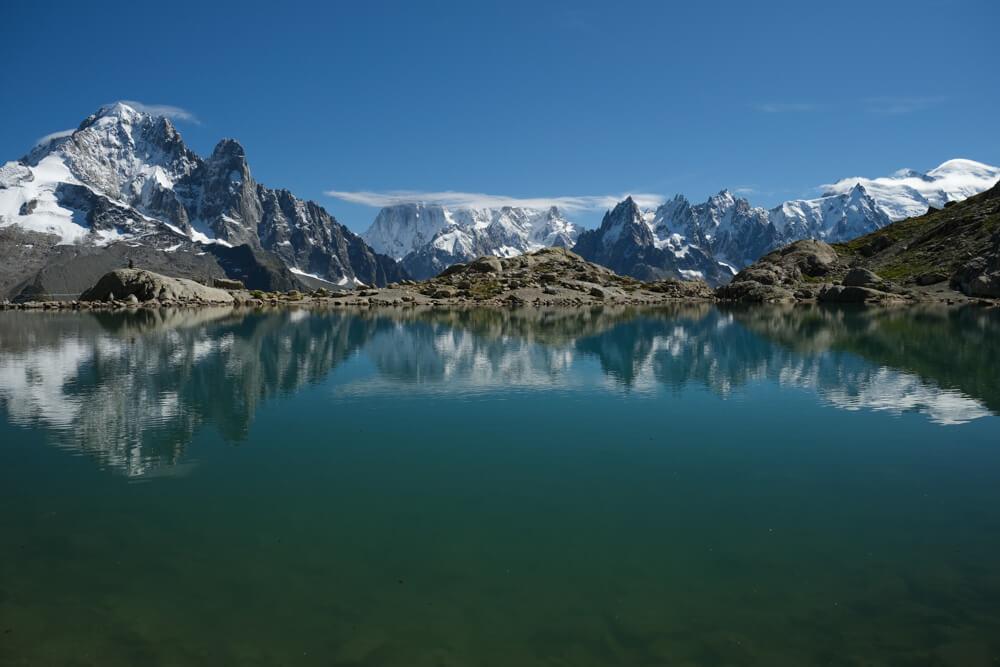 Le Lac Blanc en septembre