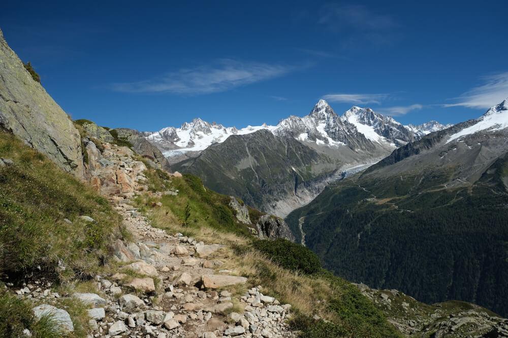 Randonnée du Lac Blanc, sentier de l'Index