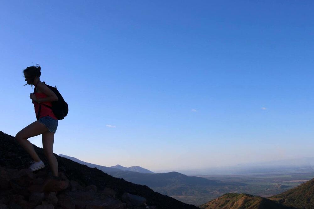 Montée au volcan Telica pour le coucher du soleil