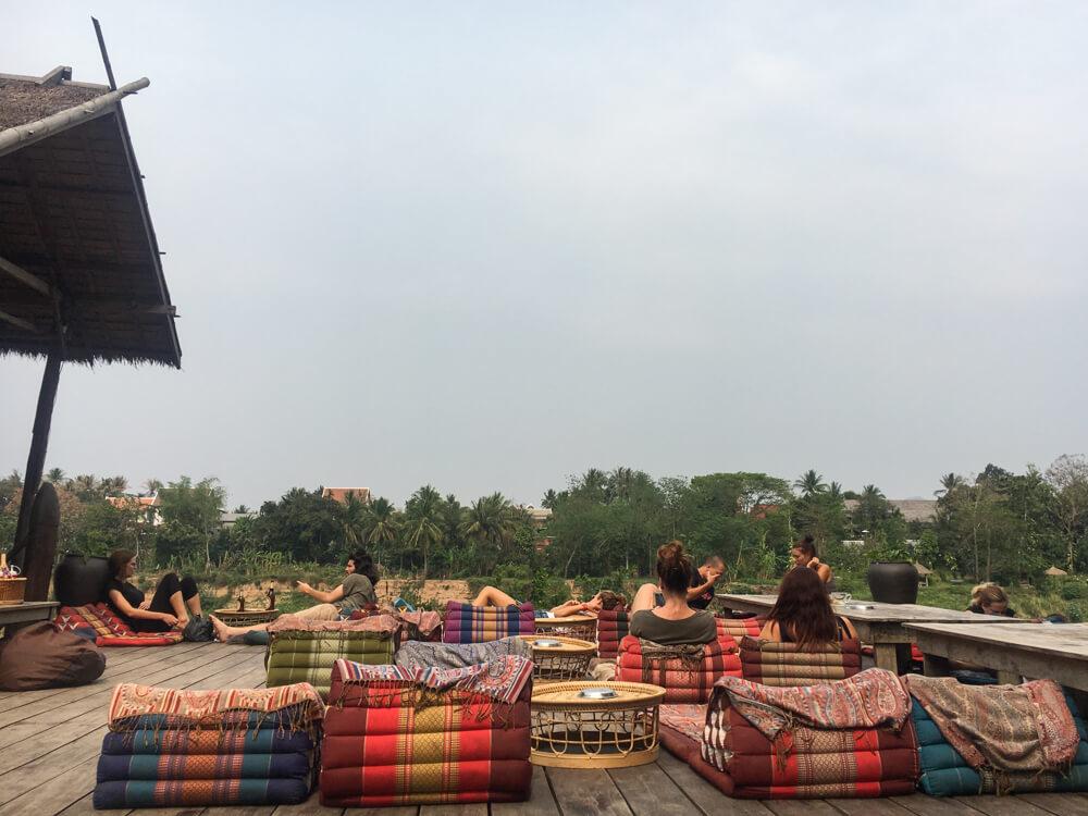 Utopia, l'incontournables des backpackers de visite à Luang Prabang