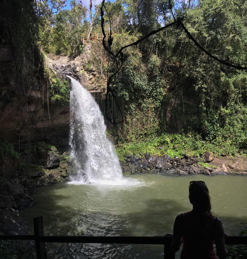 amphitheatre de la cascada blanca