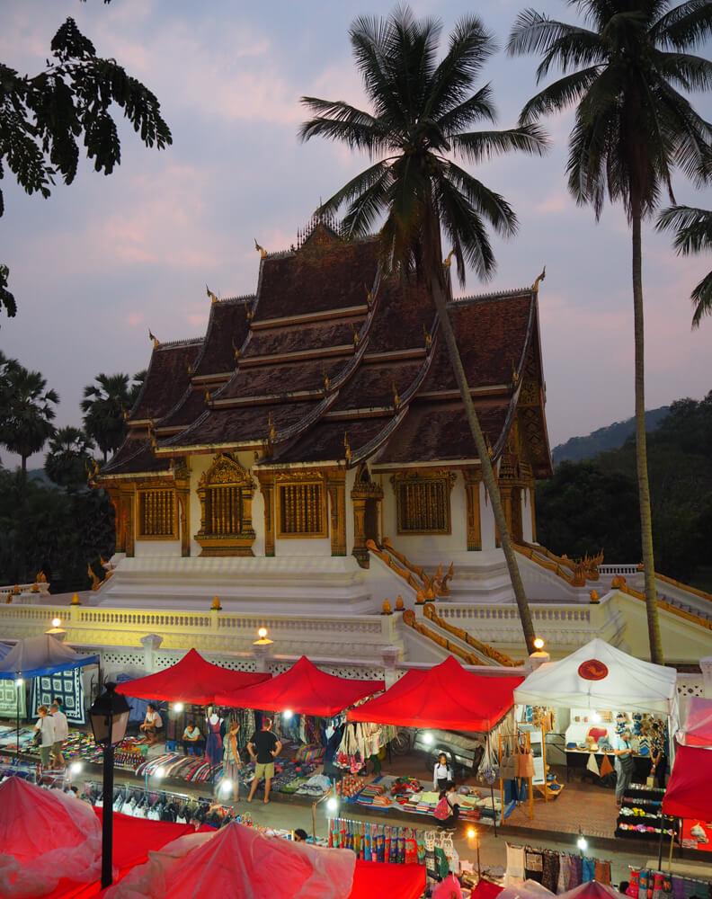 Le marché de nuit - incontournable de Luang Prabang