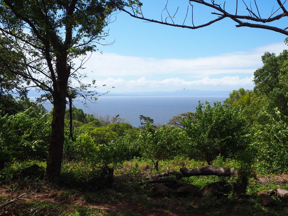 vue depuis le sentier de la cascade San Ramon sur l'ile d'Ometepe
