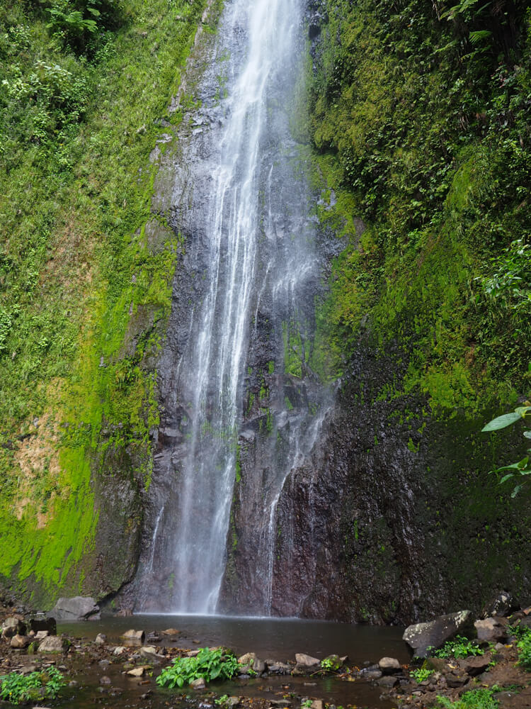 le bas de la cascade San Ramon sur l'ile d'Ometepe