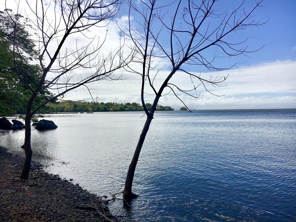 le lac Nicaragua, ile d'Ometepe