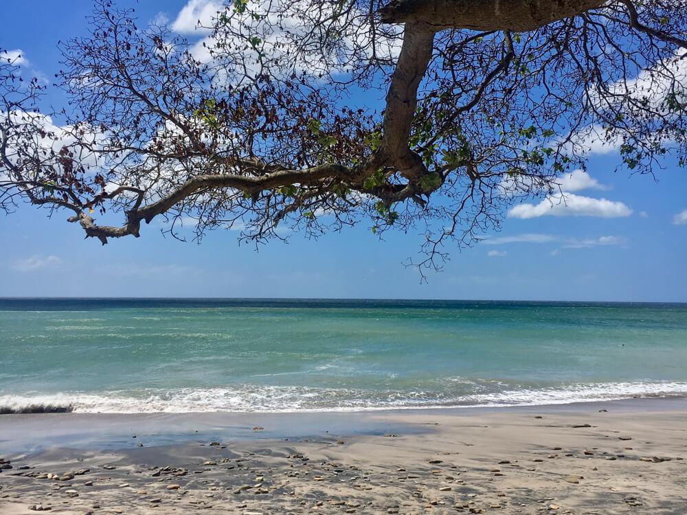 La plage de Popoyo Nicaragua