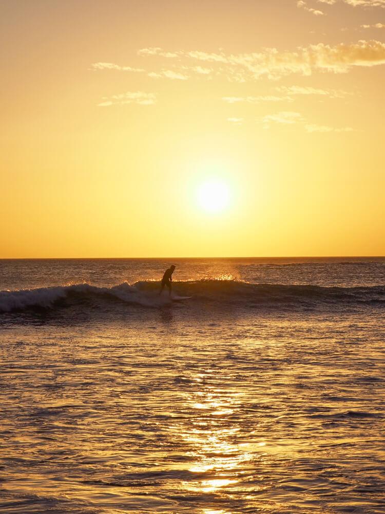 Surf à Popoyo, Nicaragua