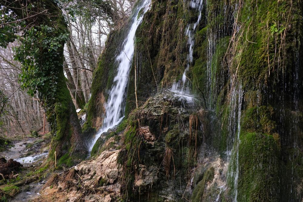 La cascade de la fontaine d'argent de Songieu