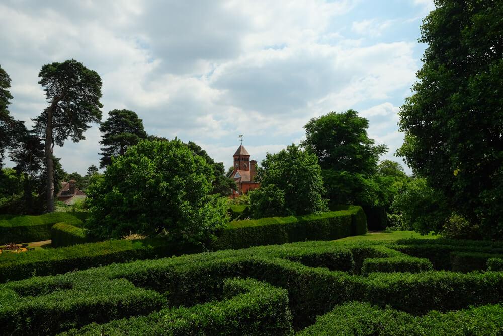 Manoir dans les jardins de Capel Manor, Enfield, Londres