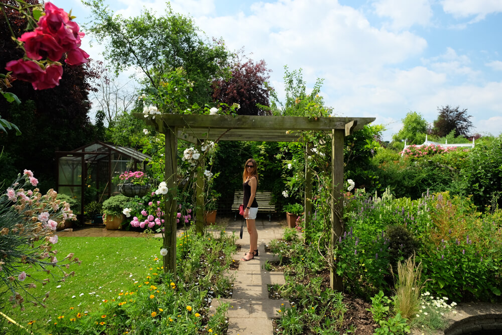 les jardins de Capel Manor, Enfield, Londres
